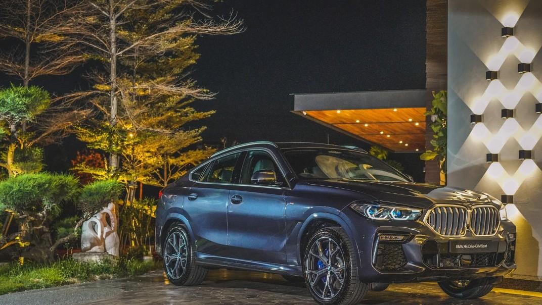 2020 BMW X6 xDrive40i M Sport Exterior 002