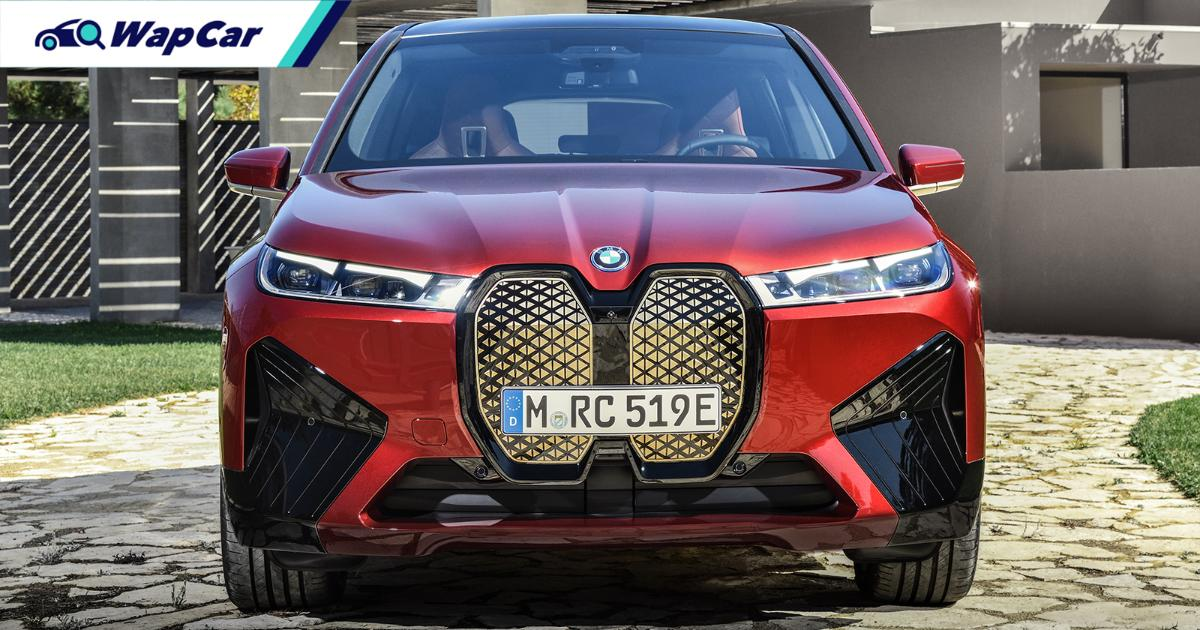 2021 BMW iX teased; 500 PS electric SUV coming to Malaysia 01