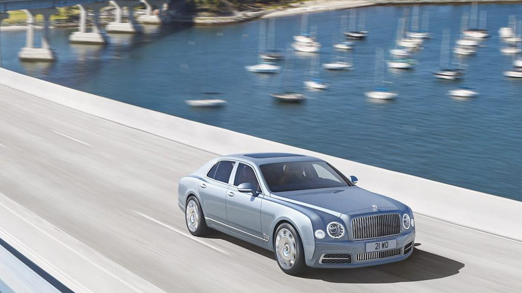 Bentley Mulsanne (2017) Exterior 007