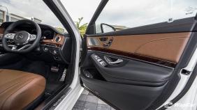 2018 Mercedes-Benz S-Class S 450 L AMG Line Exterior 006