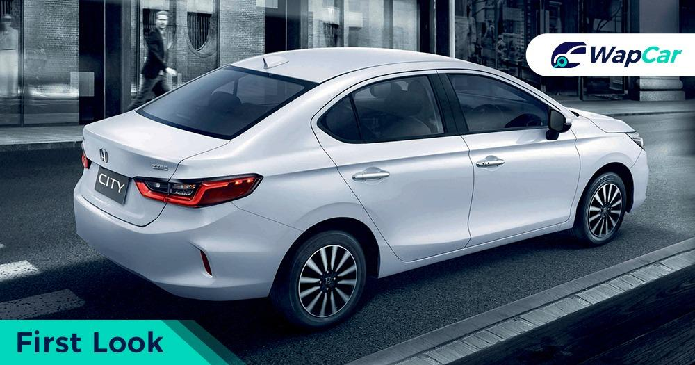 All-new 2020 Honda City debuts in Thailand, 1.0 Turbo meets RS 01