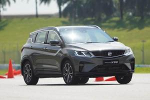 Malaysia's Proton X50 will ride and handle better than China's Geely Binyue