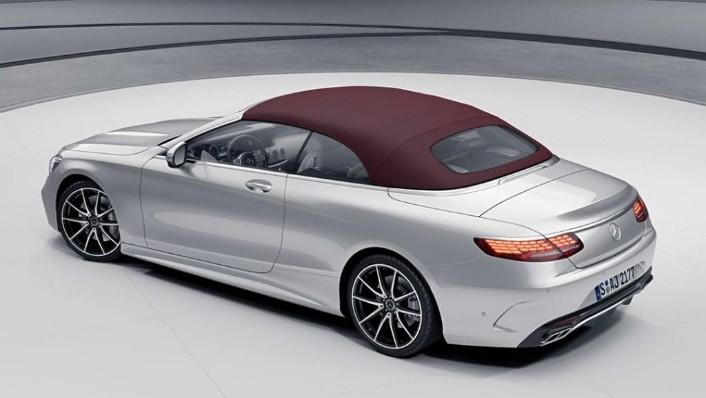 Mercedes-Benz S-Class Cabriolet (2018) Exterior 007