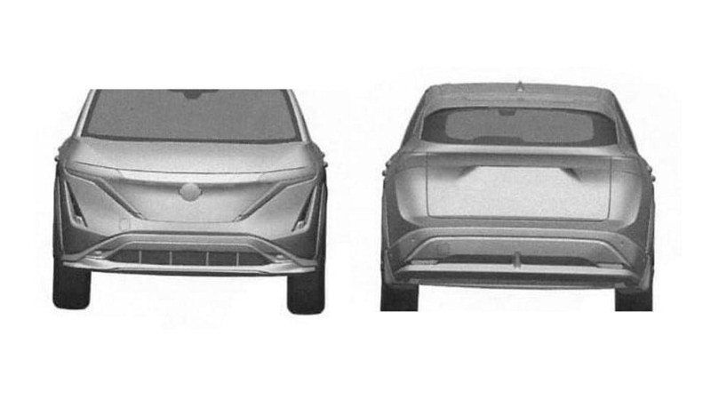 After X-Trail, a leaked 2021 Nissan Ariya patent surfaces - Murano replacement? 02