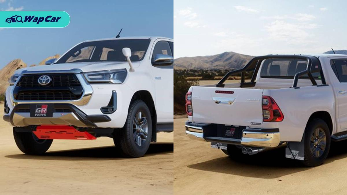2020 Toyota Hilux gains Gazoo Racing parts, cost as much as a new Myvi! 01