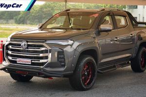 Thailand lancar MG Extender facelift 2021 – cukup untuk gentarkan Hilux & D-Max?