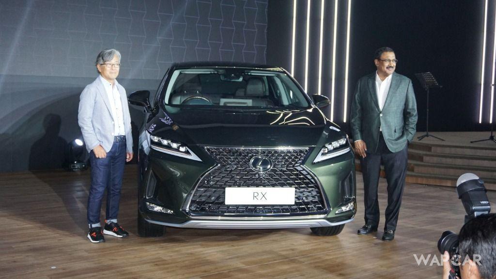 2019 Lexus RX front