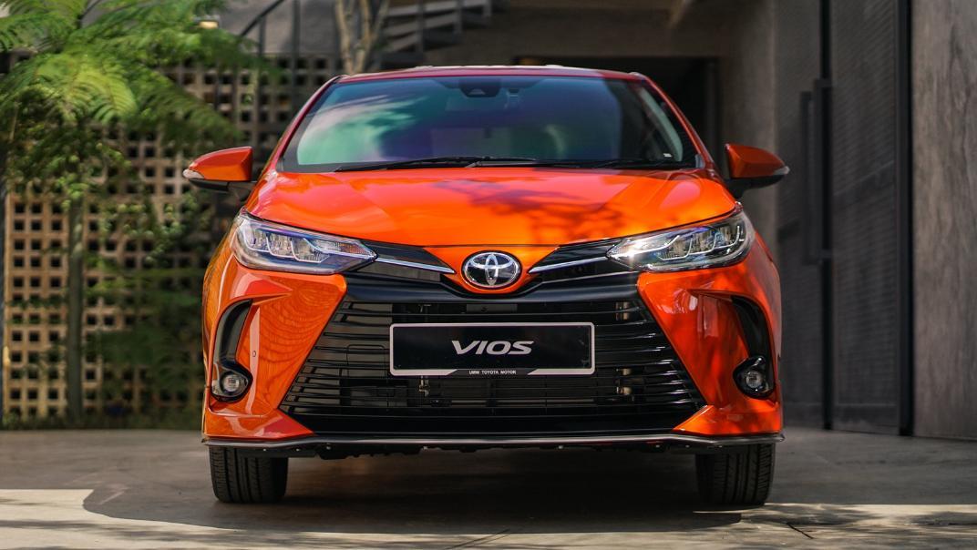 2021 Toyota Vios 1.5E Exterior 002