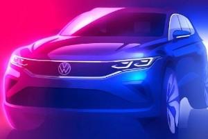 VW teases 2020 Volkswagen Tiguan facelift