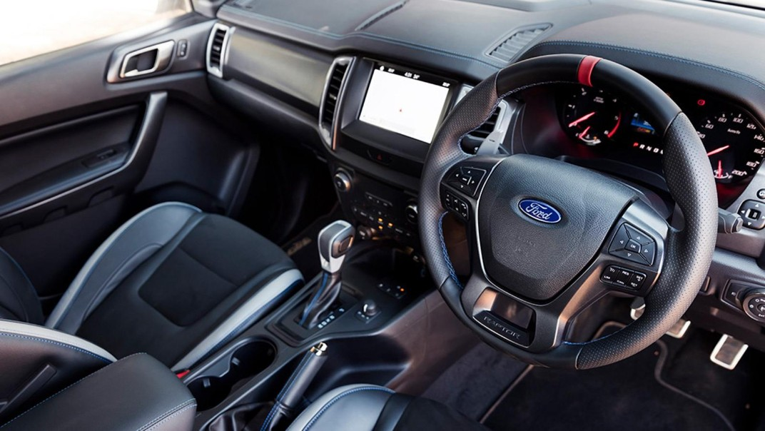 2021 Ford Ranger Raptor 2.0 Bi-Turbo Interior 001