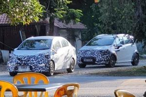 Spied! Proton Iriz and Proton Persona facelift testing