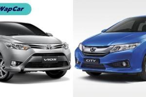 Toyota Vios vs Honda City: Yang manakah mempunyai nilai penjualan semula yang lebih tinggi?