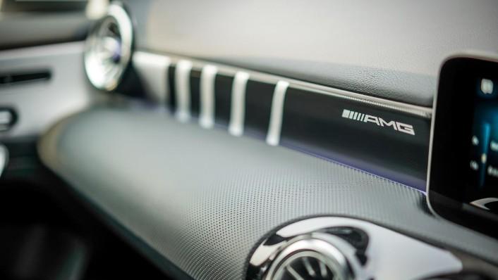 2019 Mercedes-Benz AMG A-Class A35 Interior 010
