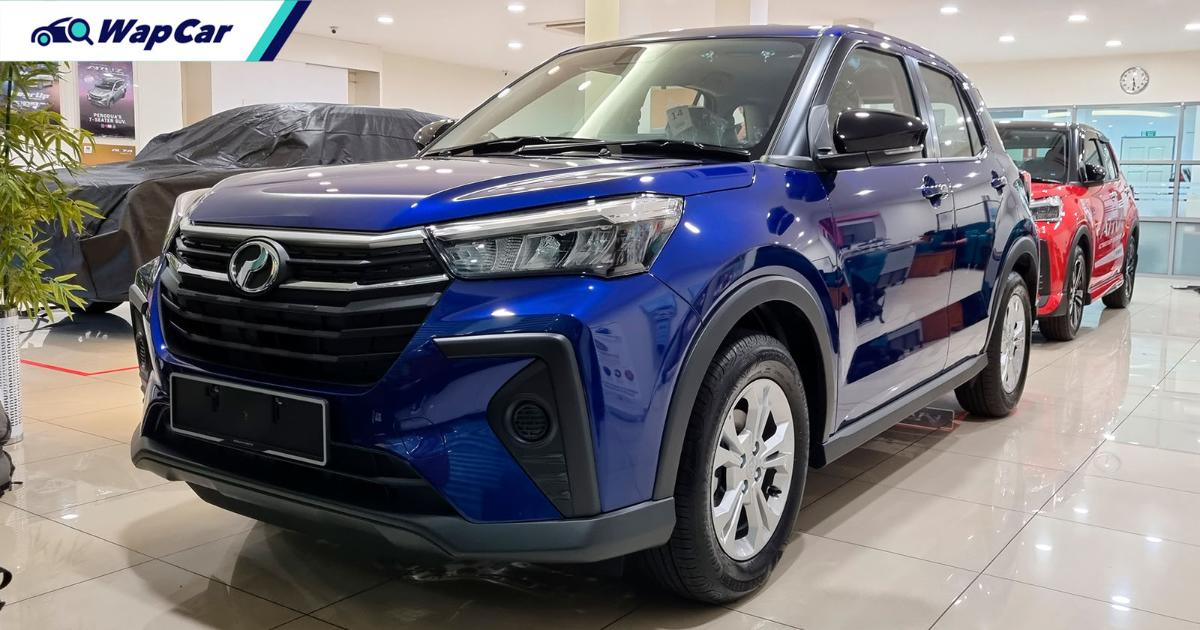 The 2021 Perodua Ativa's standard safety kit is better than the Proton X50 01