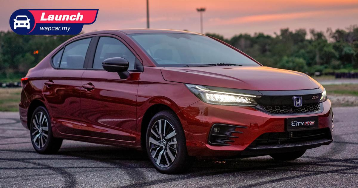 2021 Honda City RS e:HEV, price confirmed from RM 106k 01