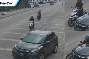 Video: YSuku terbabas, Honda HR-V bagi signal terus u-turn!
