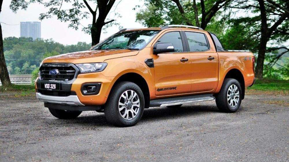2018 Ford Ranger 2.0 Bi-Turbo WildTrak 4x4 (A) Exterior 001