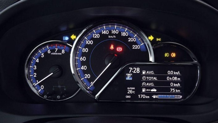 Toyota Vios (2019) Interior 003