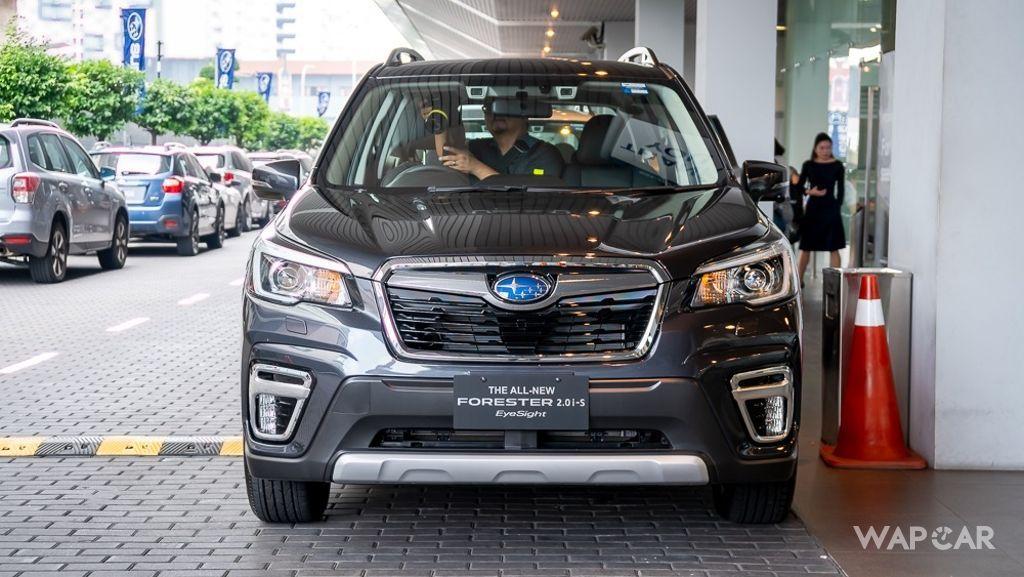 2019 Subaru Forester 2.0i-S EyeSight Exterior 018