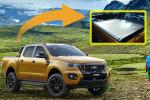 2021 Ford Ranger Wildtrak's power roller shutter - here's how it works!
