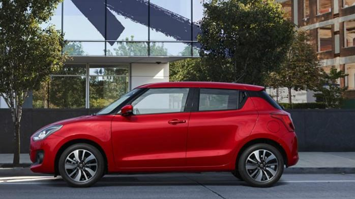 Suzuki Swift (2018) Exterior 007