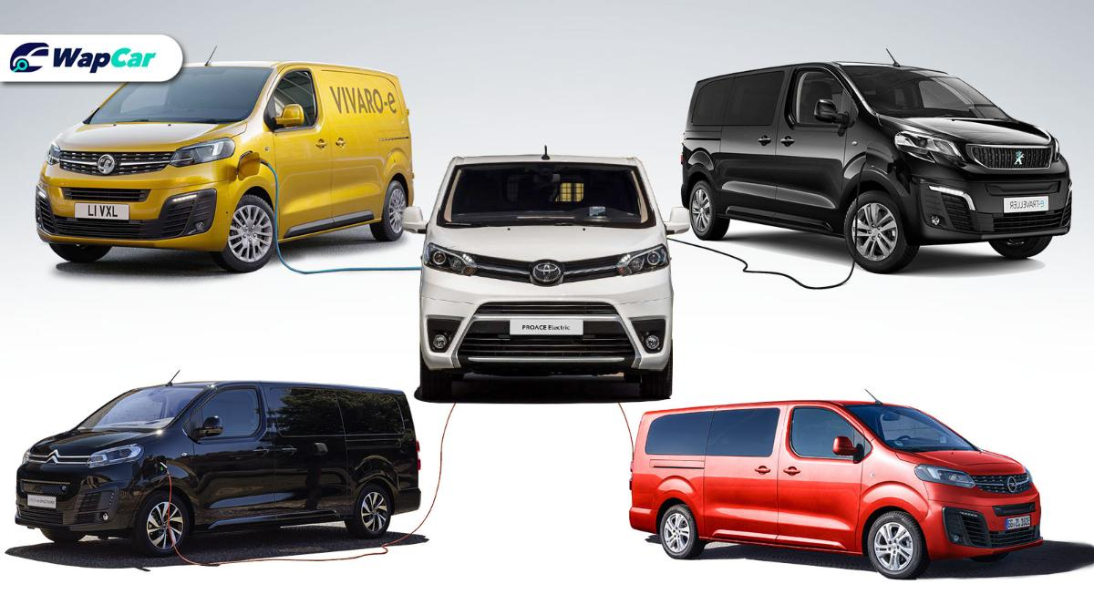 5 electric MPVs & vans from Toyota and PSA Group 01