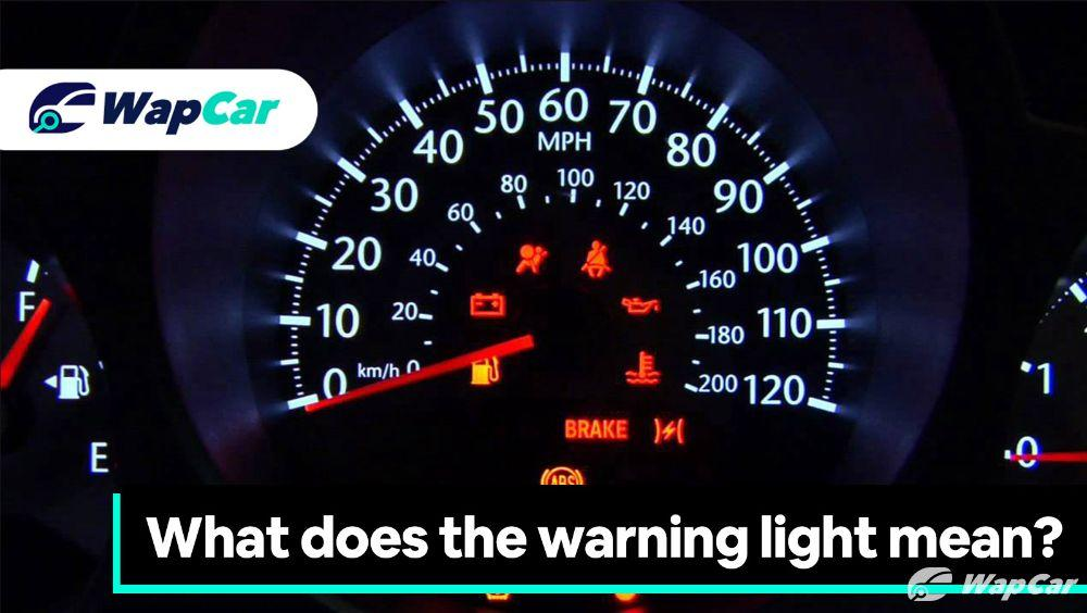 Warning lights on your car, what do they mean? 01