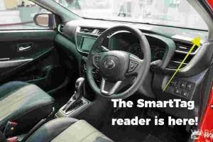 2 years since the Perodua Myvi came with integrated SmartTag. We're still jealous…