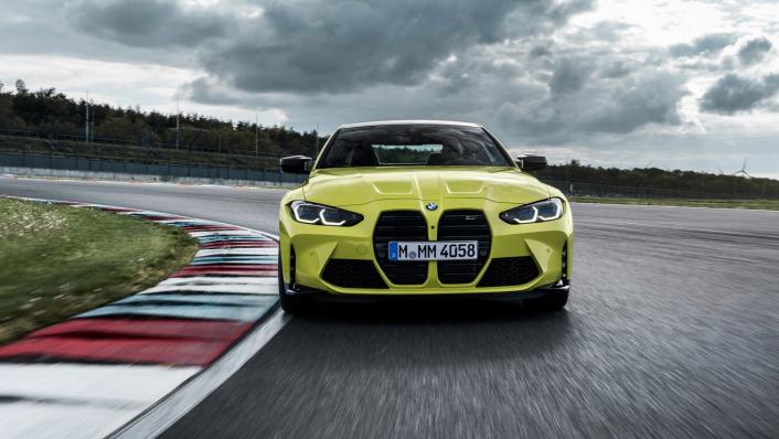 2021 BMW M4 Competition Coupe Exterior 009