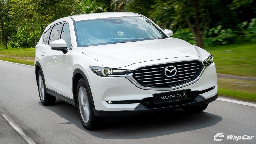 Mazda CX-8 front