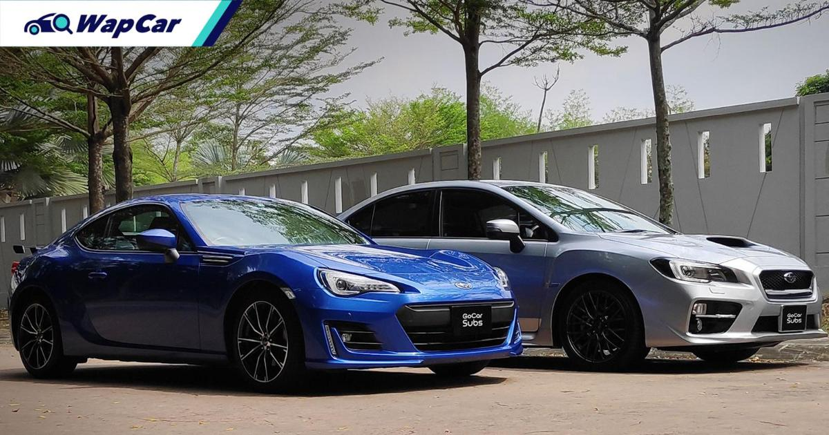 You can now subscribe to a Subaru BRZ or a Subaru WRX on GoCar Subs 01