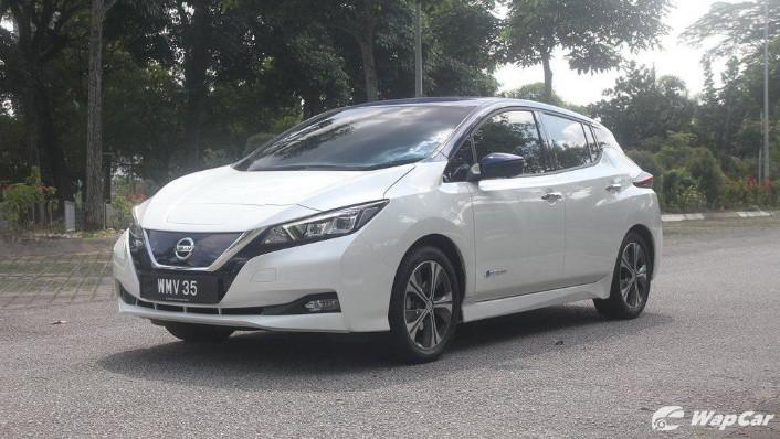2019 Nissan Leaf Exterior 001