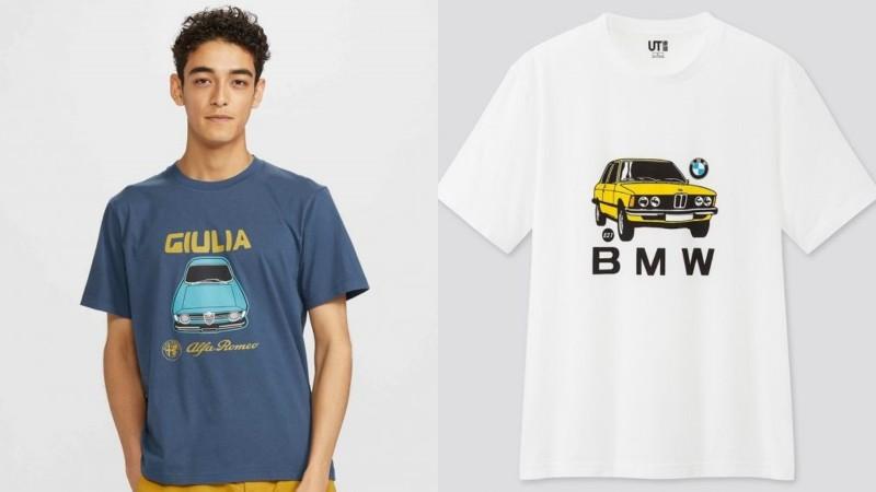 Anda peminat BMW, Alfa Romeo atau VW? Uniqlo lancar T-shirt untuk kereta kegemaran anda! 02