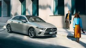 2019 Mercedes-Benz A200 Sedan Progressive Line Exterior 003
