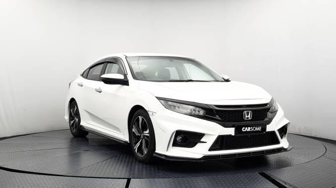 2017 Honda CIVIC TC-P 1.5