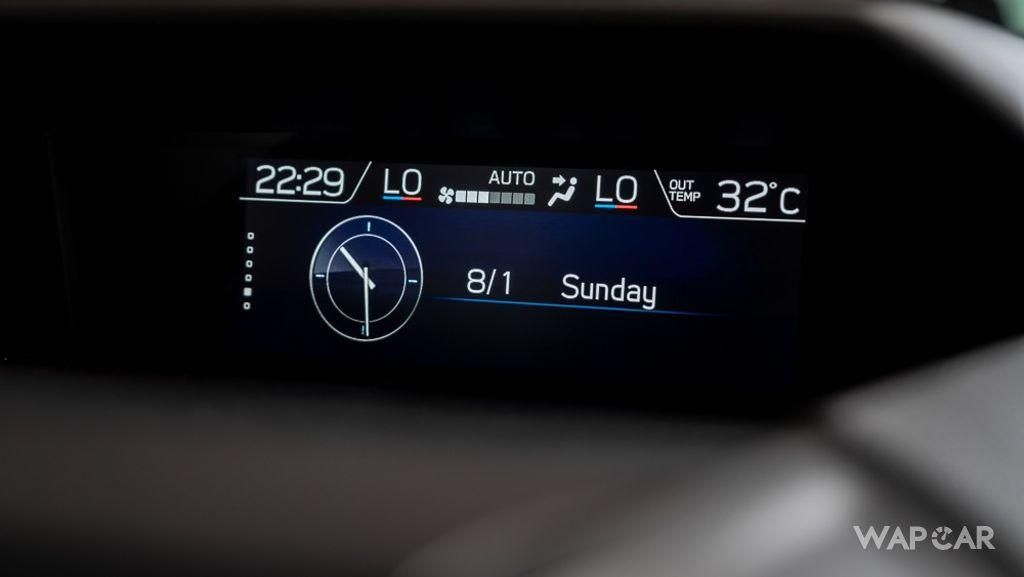 Subaru Forester (2019) Interior 017