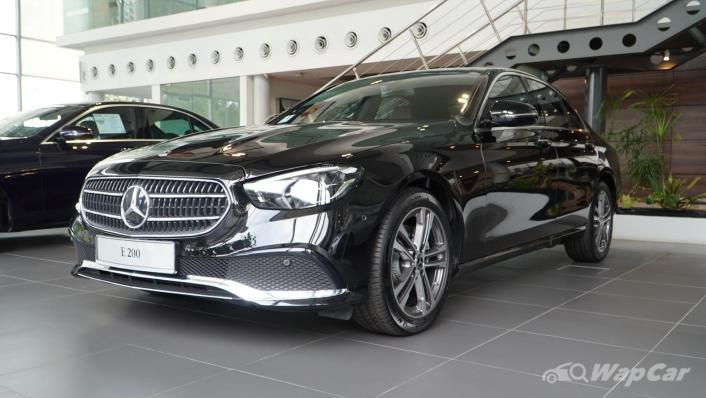 2021 Mercedes-Benz E-Class E200 Avantgarde Exterior 001