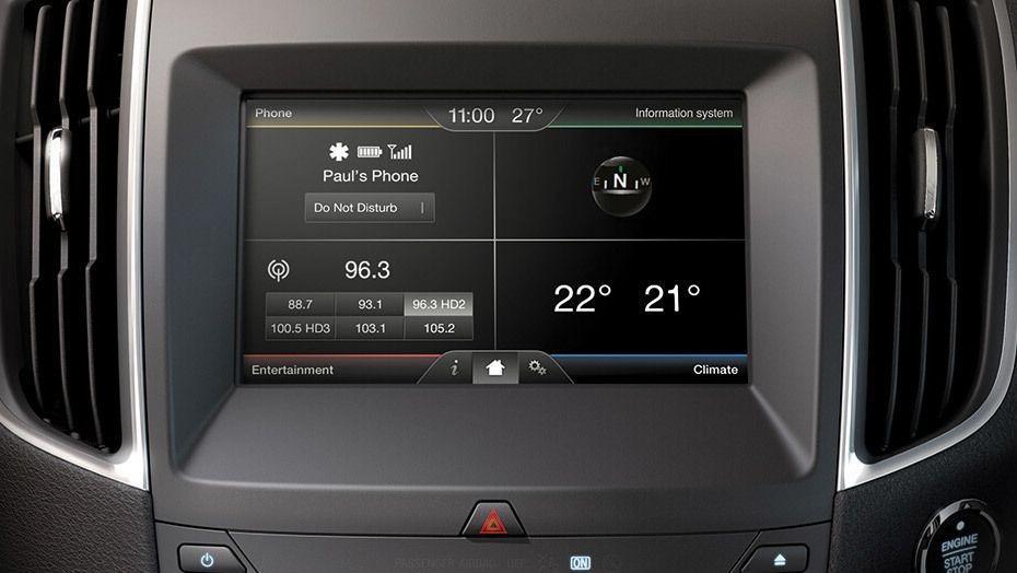 Ford S-MAX (2017) Interior 003