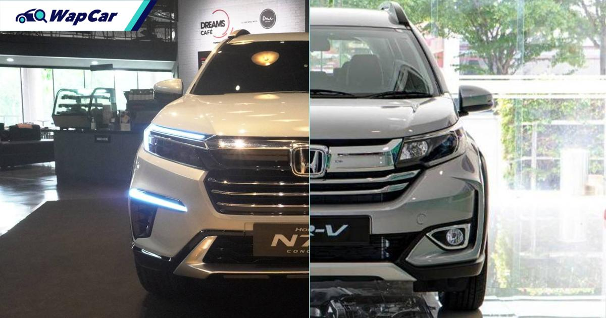 Honda N7X Concept vs Honda BR-V - Will it be the next cabin space champion? 01