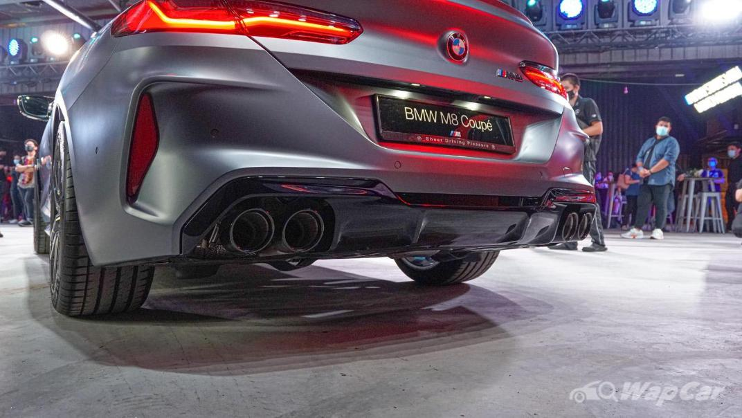 2020 BMW M850i xDrive Coupe Exterior 008