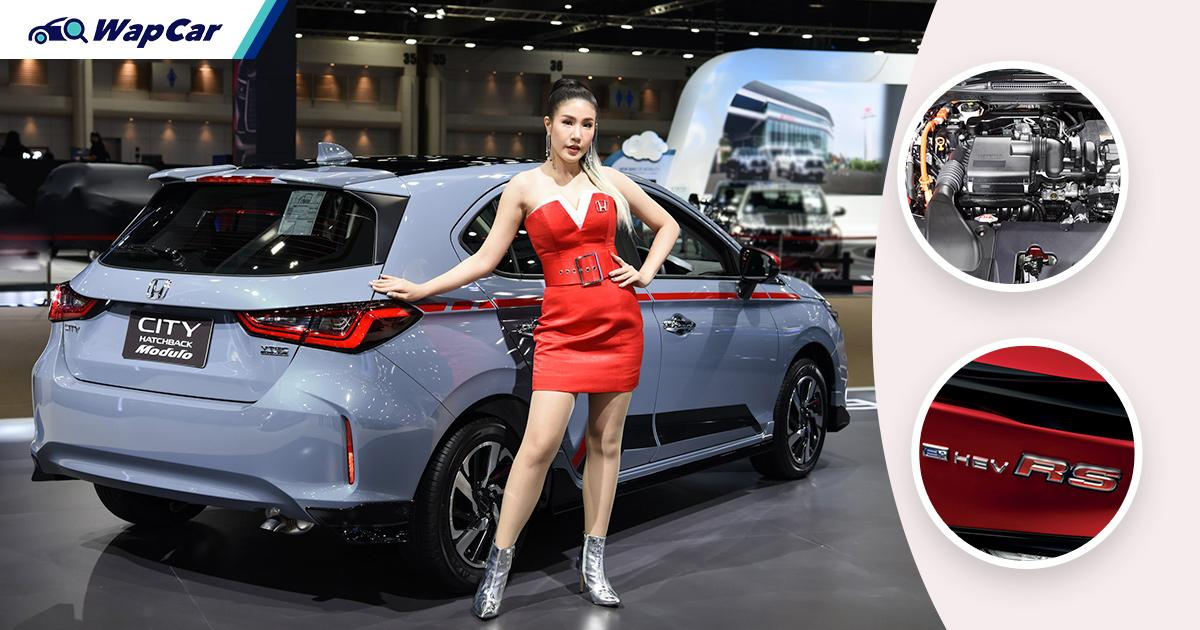Honda City Hatchback e:HEV 2021 debut bulan ini di Thailand; hibrid i-MMD seperti City RS Malaysia 01