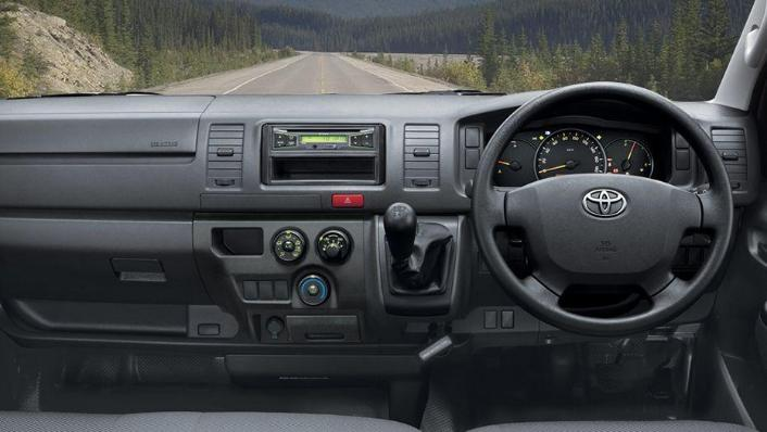 Toyota Hiace (2018) Interior 002