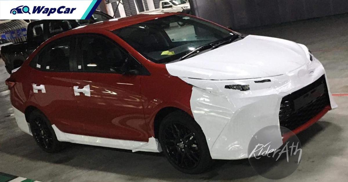 Spyshot: Penampakan pertama Toyota Vios GR Sport 2021! 01
