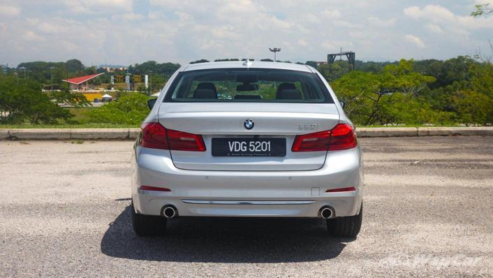 2019 BMW 5 Series 520i Luxury Exterior 006
