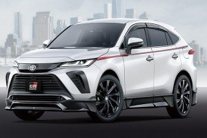 The 2020 Toyota Harrier gets a sporty GR body kit in Japan