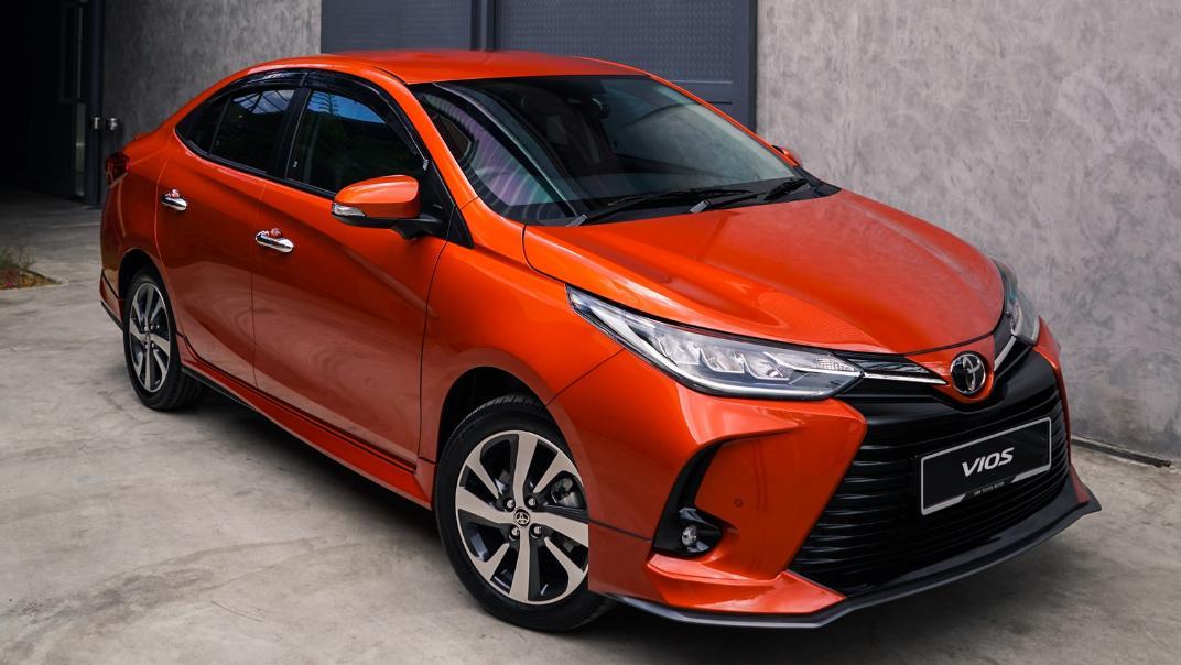 2021 Toyota Vios 1.5E Exterior 003
