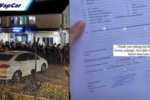 Satu lagi borang rentas negeri kosong dengan cop dan tandatangan disalahgunakan