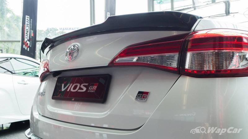 Gambaran dekat: Toyota Vios GR Sport 2020 - baloi ke tambah RM 8k? 02