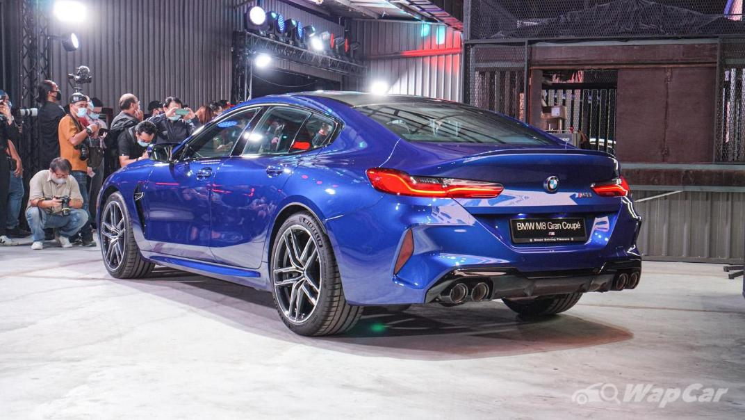2020 BMW M850i xDrive Gran Coupe Exterior 005