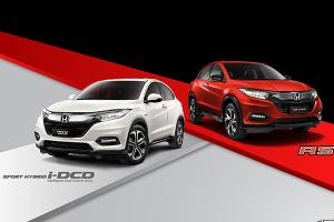 2021 Honda HR-V for Malaysia gets new infotainment, LED headlamps, and colour